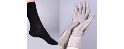 Gants, chaussettes anti ondes