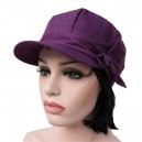 Casquette anti ondes GLAM -89dB Ray Swiss Shielding - Prune